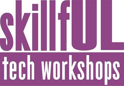 graphic for skillful tech workshops